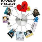 世界で一つのクリップ型壁掛け時計 FLYING TIGER COPENHAGEN