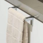 まるで備え付けのタオル掛けが簡単に。 KEYUCA(ケユカ) pico タオルバー
