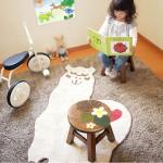 世界にたったひとつの子供用椅子 プルメリア