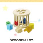 ウッデントイ(木のおもちゃ)ドラムパズル